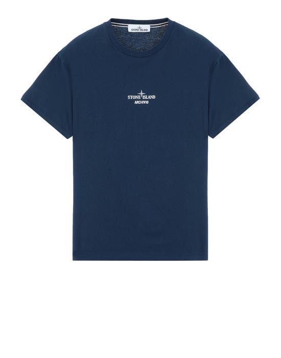 STONE ISLAND Short sleeve t-shirt 2NS91 STONE ISLAND ARCHIVIO PROJECT_TELA STELLA