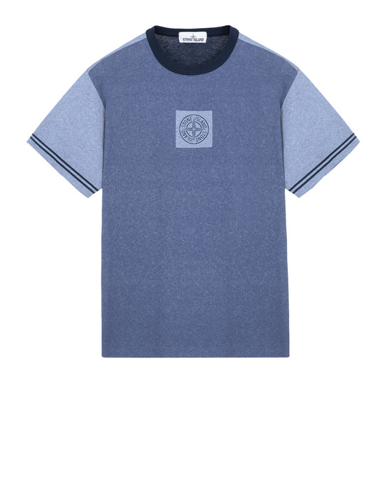 Short sleeve t-shirt 23335 JERSEY PLACCATO STONE ISLAND - 0
