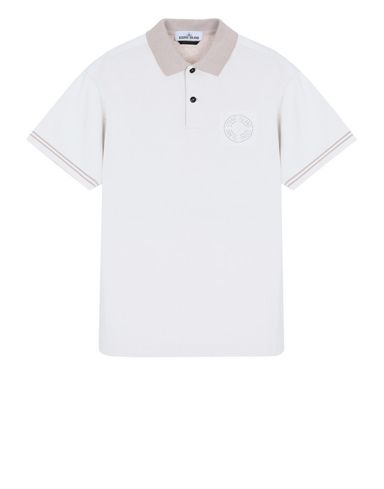 STONE ISLAND Polo shirt 22834 JERSEY PLACCATO