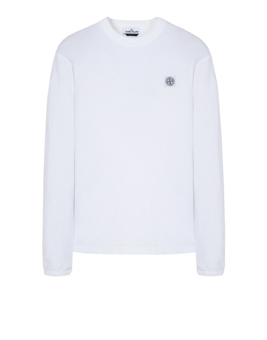 STONE ISLAND Long sleeve t-shirt 21557 'FISSATO' DYE TREATMENT