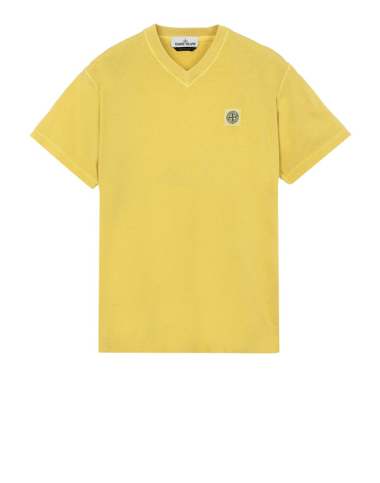 STONE ISLAND Short sleeve t-shirt 20257 'FISSATO' DYE TREATMENT