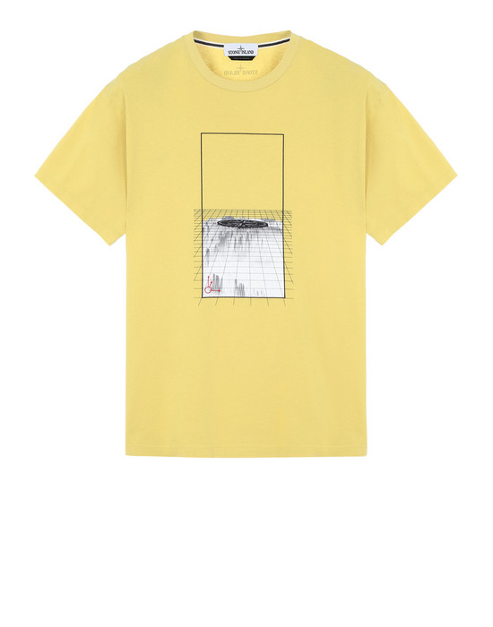 T-SHIRT A MANICHE CORTE 2NS86 'GRAPHIC FOUR'  STONE ISLAND - 0