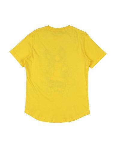 Фото 2 - Футболку желтого цвета