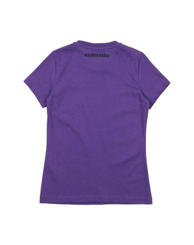 Фото 2 - Футболку фиолетового цвета