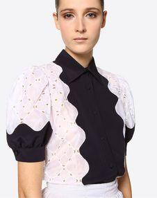 Damier Organdis Shirt