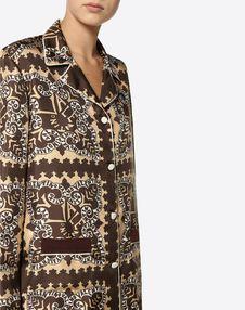 Mini Bandana Twill Pyjama Shirt