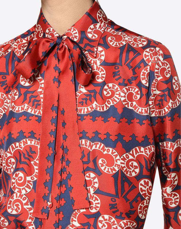 Camicia in Twill Mini Bandana
