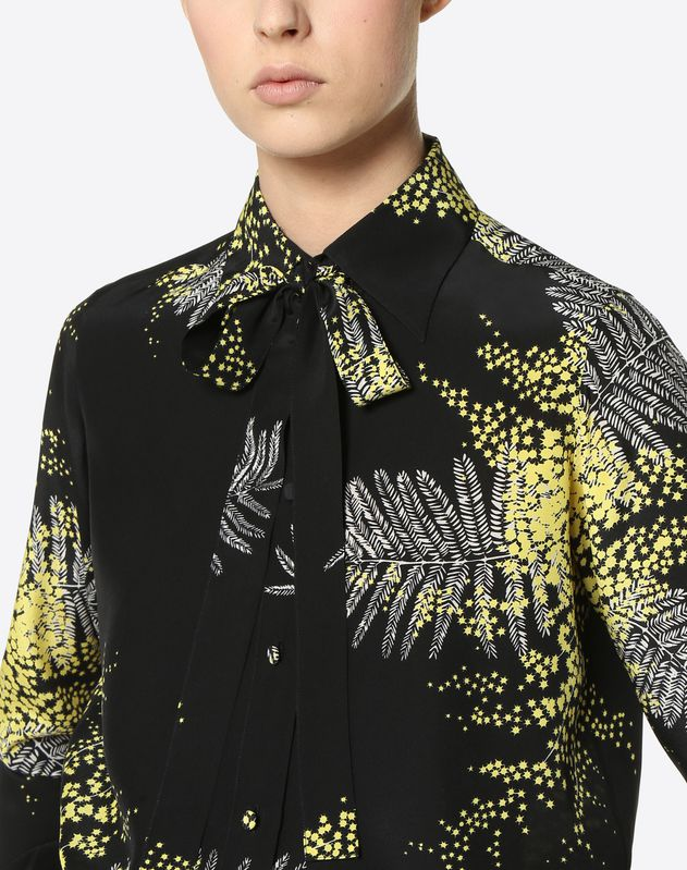 Mimosa Crêpe de Chine Shirt
