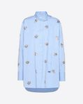 Embroidered Poplin Shirt