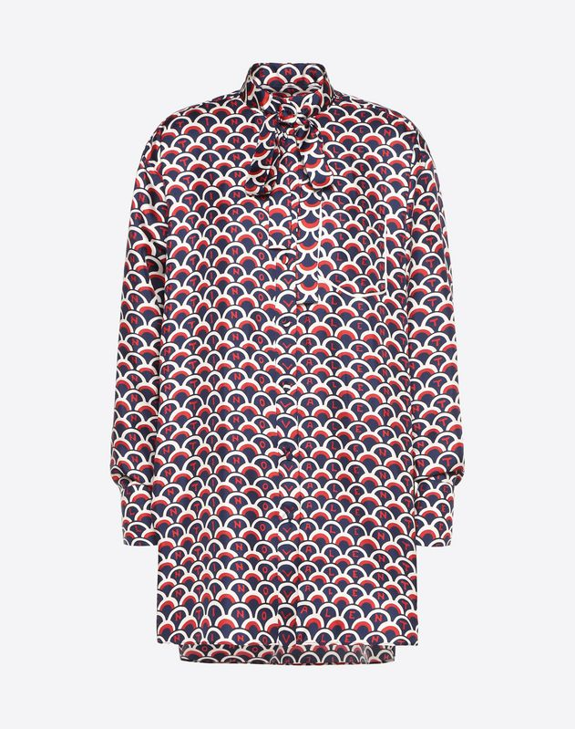 Valentino Scale Twill Shirt