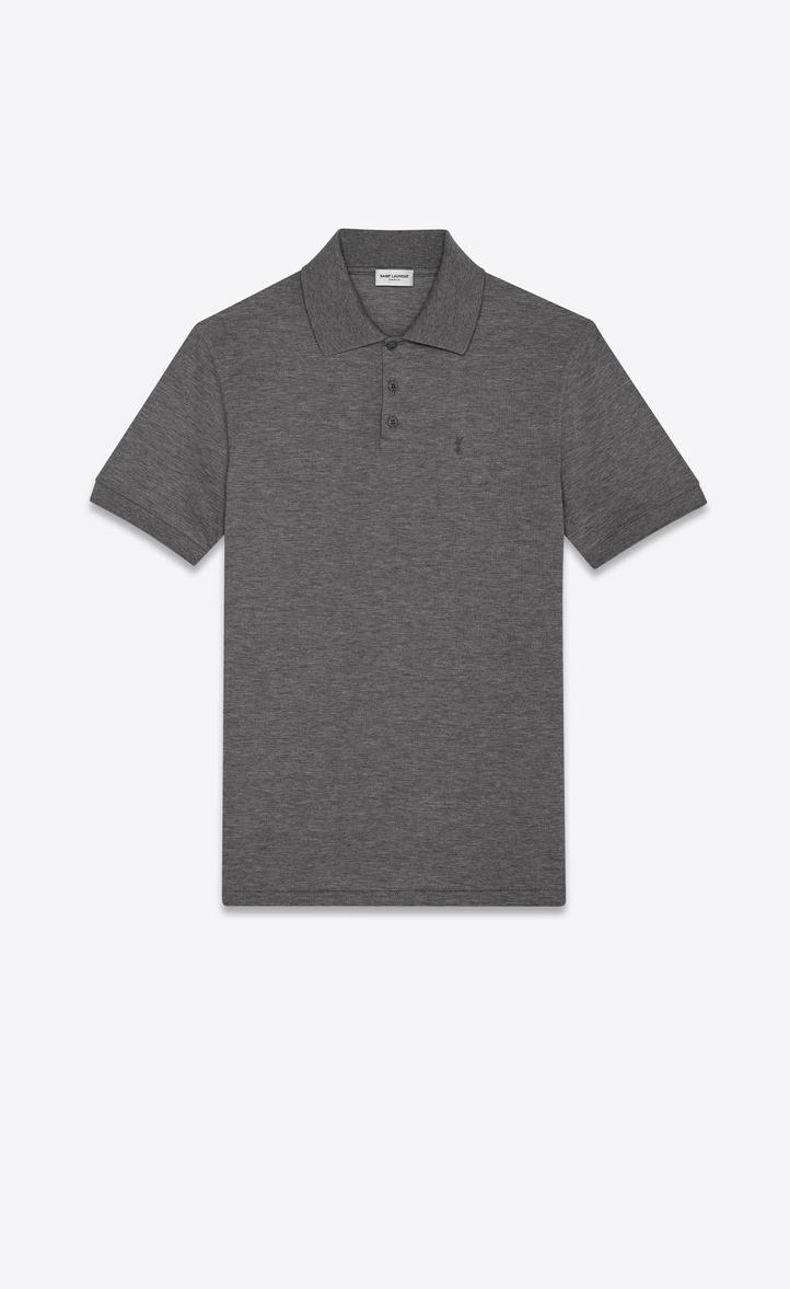 Saint Laurent Monogram Polo Shirt Ysl Com