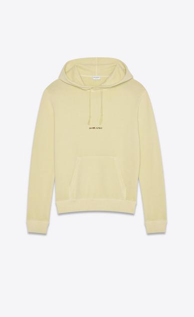 """Saint Laurent Rive Gauche"" hoodie"