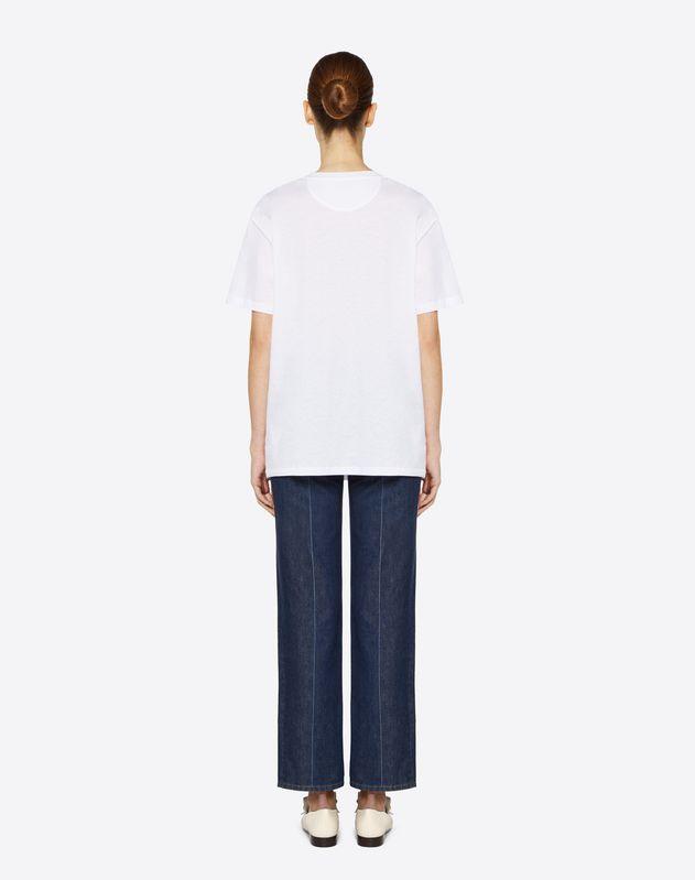 T-shirt en jersey de coton Mini Bandana