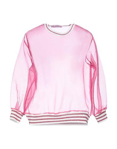 Фото - Женскую блузку  цвета фуксия