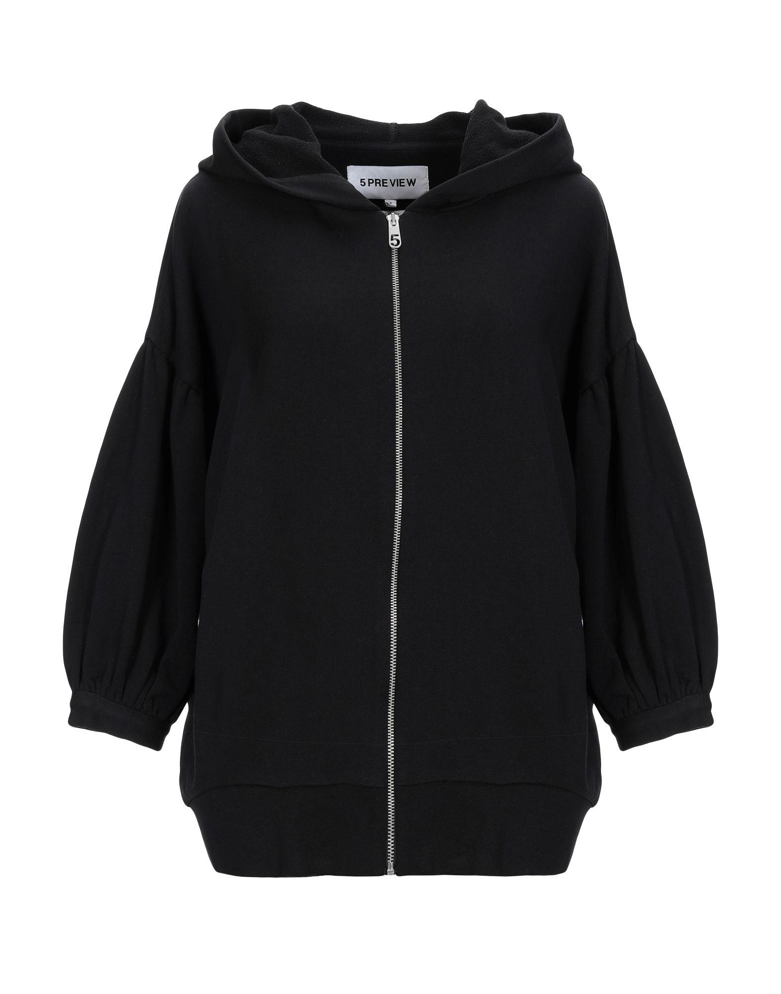 5PREVIEW Damen Sweatshirt5 schwarz