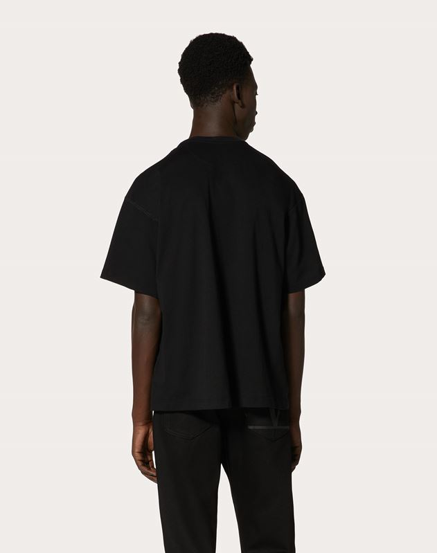 DECONSTRUCTED GO LOGO T-SHIRT
