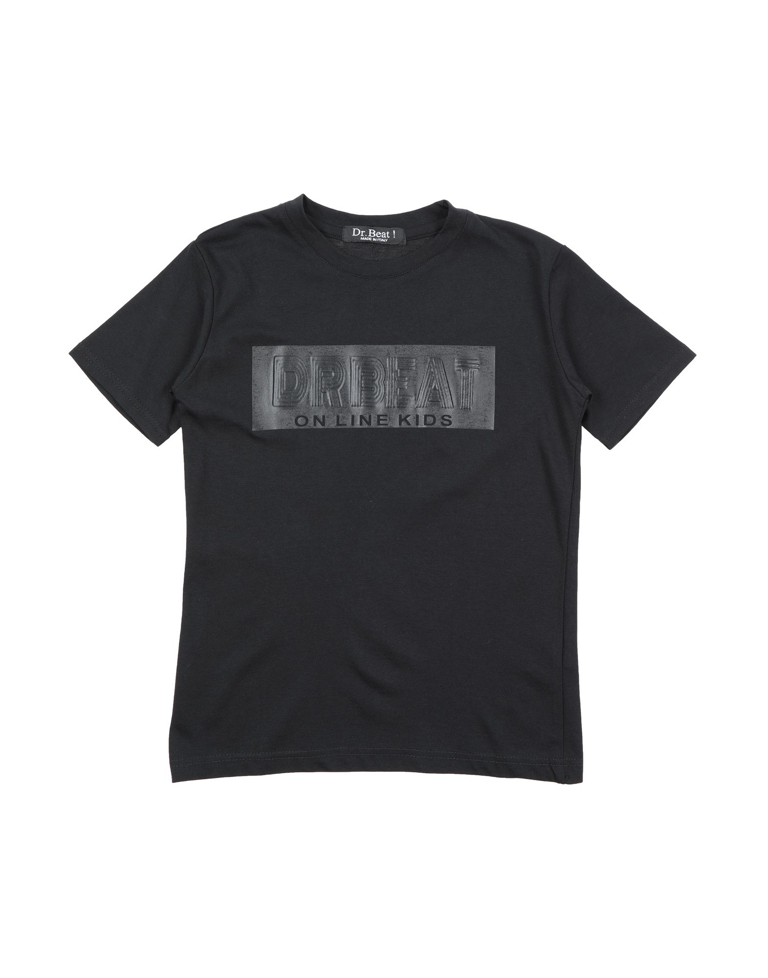 Dr. Beat Kids' ! T-shirts In Black