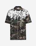 SHORT-SLEEVED HAWAII BLUE CAMOUFLAGE SHIRT