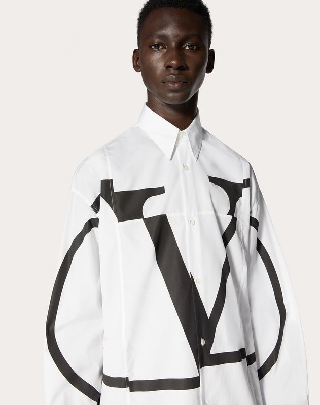 DECONSTRUCTED GO LOGO OVERSHIRT