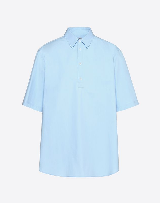 HALF-SLEEVE POLO SHIRT