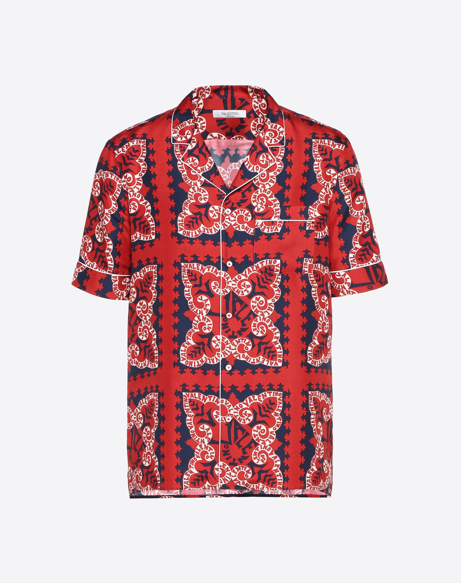 VALENTINO MINI BANDANA SILK SHIRT