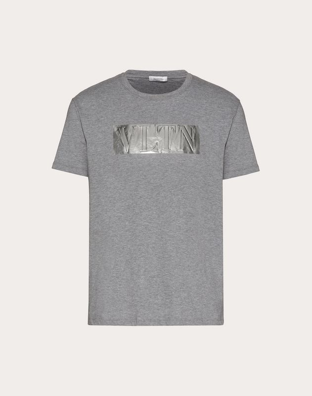 LAMINATED EMBOSSED VLTN T-SHIRT