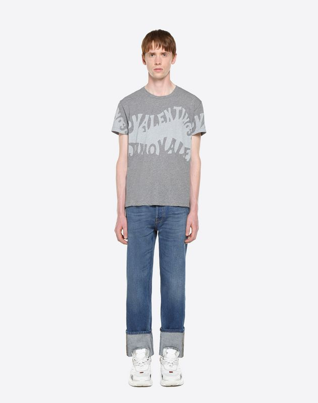 T-SHIRT VALENTINO WAVES