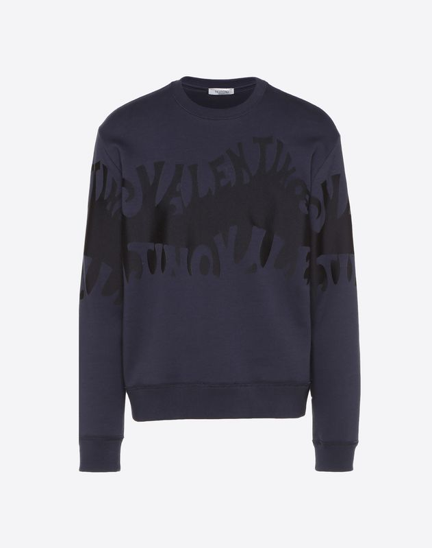 VALENTINO WAVES SWEATSHIRT