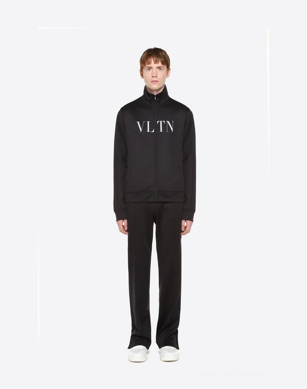 VLTN ZIPPERED SWEATSHIRT