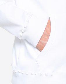 ROCKSTUD UNTITLED 平纹针织连帽卫衣