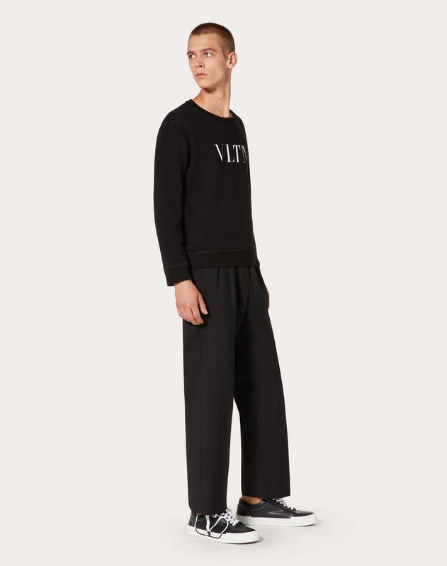 SWEAT-SHIRT RAS-DU-COU VLTN