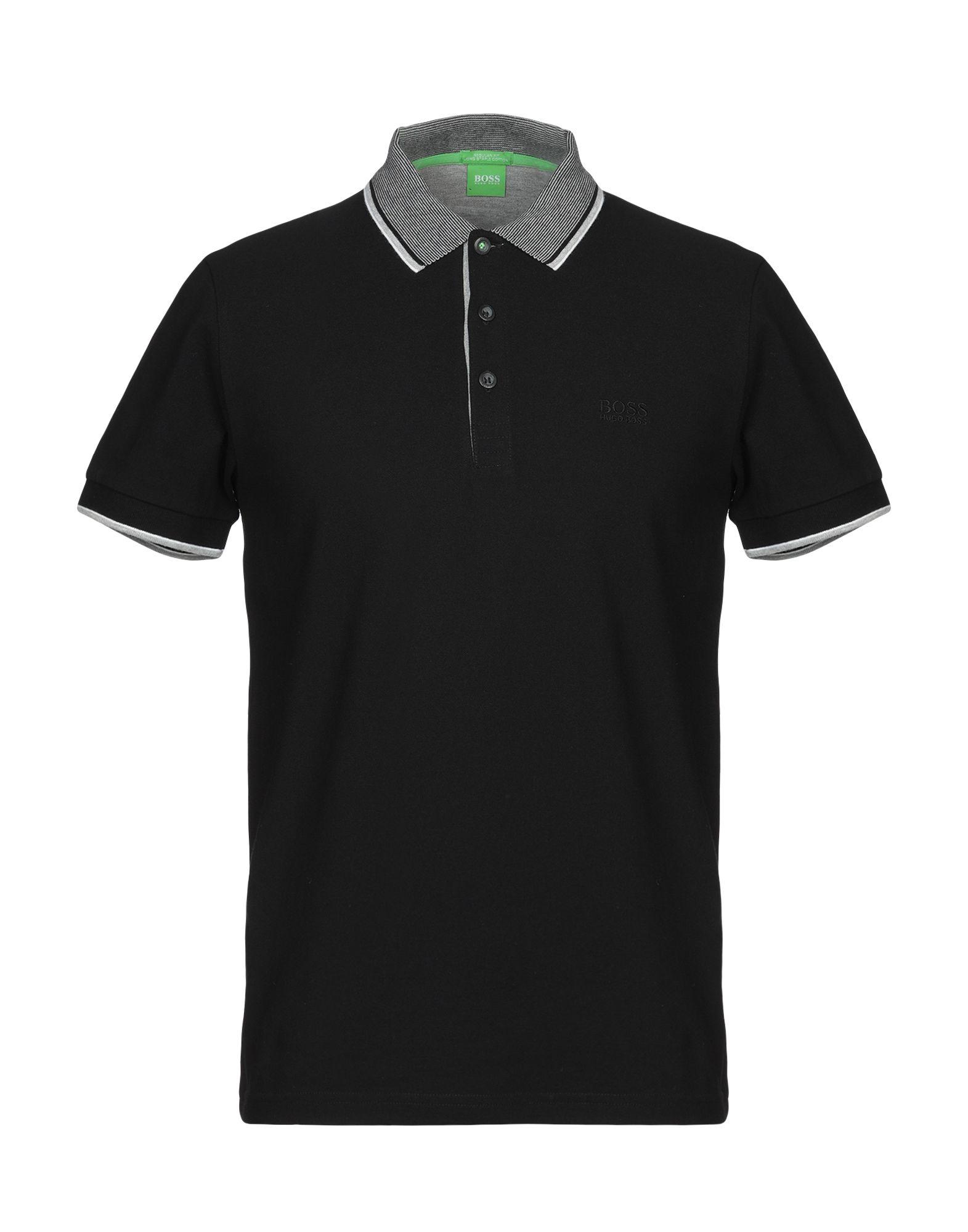 BOSS GREEN Поло boss green меланжевая футболка
