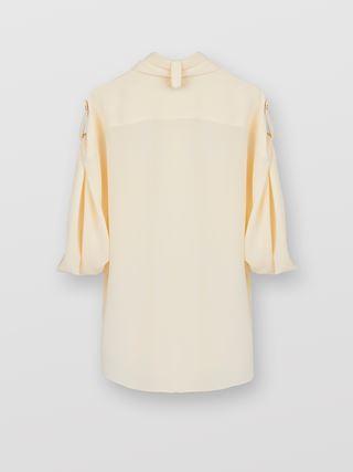 Chest-pocket blouse