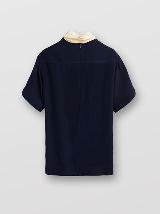 T-shirt lavallière