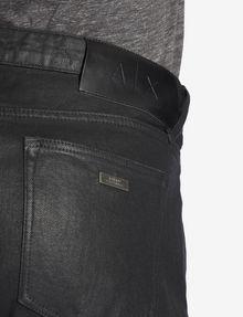 ARMANI EXCHANGE J75 SLIM-FIT COATED BLACK JEAN Slim fit JEANS [*** pickupInStoreShippingNotGuaranteed_info ***] b
