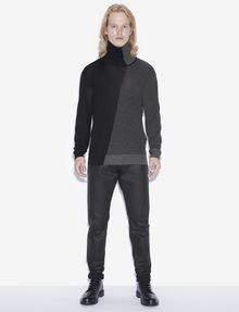 ARMANI EXCHANGE J75 SLIM-FIT COATED BLACK JEAN Slim fit JEANS [*** pickupInStoreShippingNotGuaranteed_info ***] d