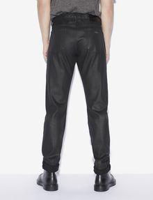 ARMANI EXCHANGE J75 SLIM-FIT COATED BLACK JEAN Slim fit JEANS [*** pickupInStoreShippingNotGuaranteed_info ***] e