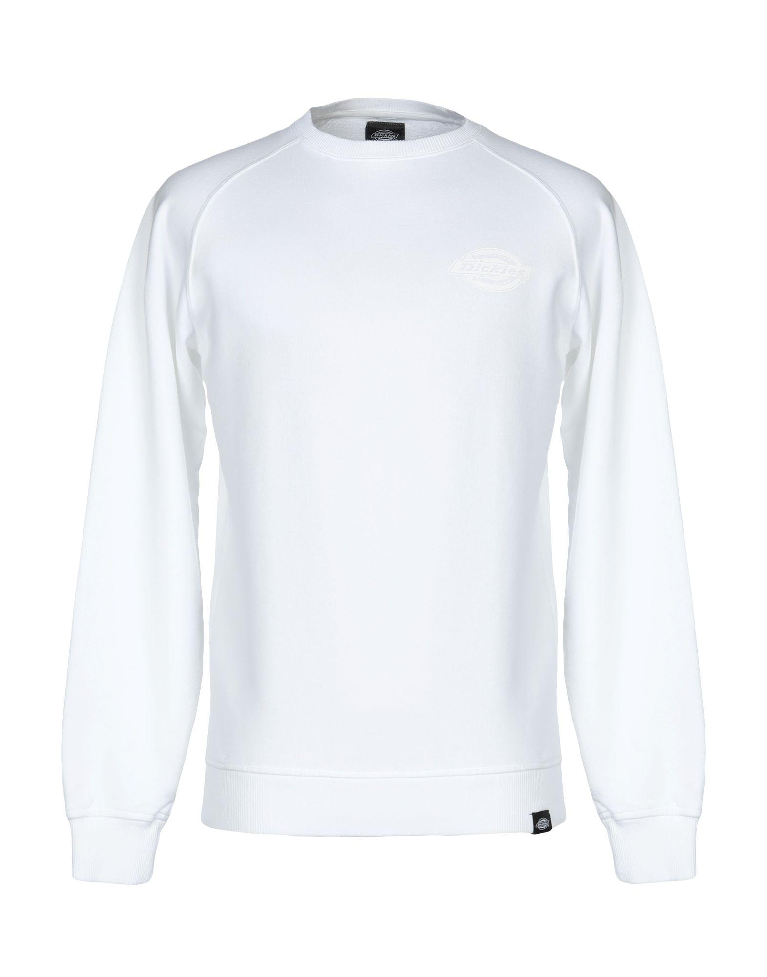 《送料無料》DICKIES メンズ スウェットシャツ ホワイト XS コットン 100%