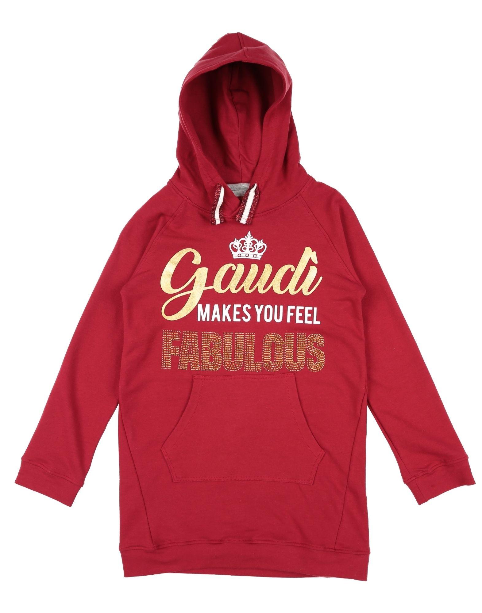 GAUDÌ Mädchen 3-8 jahre Sweatshirt6 bordeaux,rot