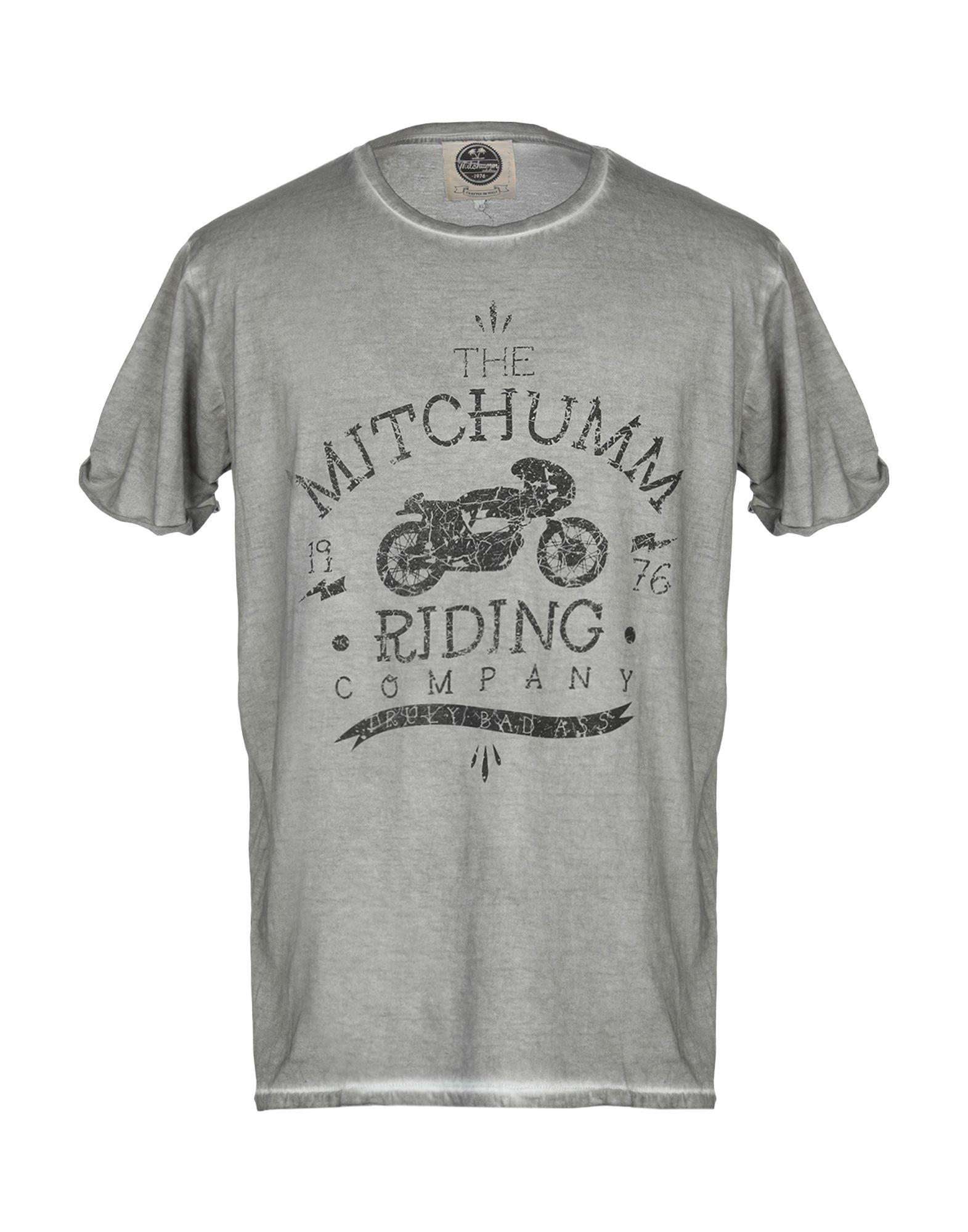 《期間限定セール開催中!》MITCHUMM industries メンズ T シャツ グレー XL コットン 100%