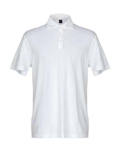Купить Мужское поло MAXI HO белого цвета