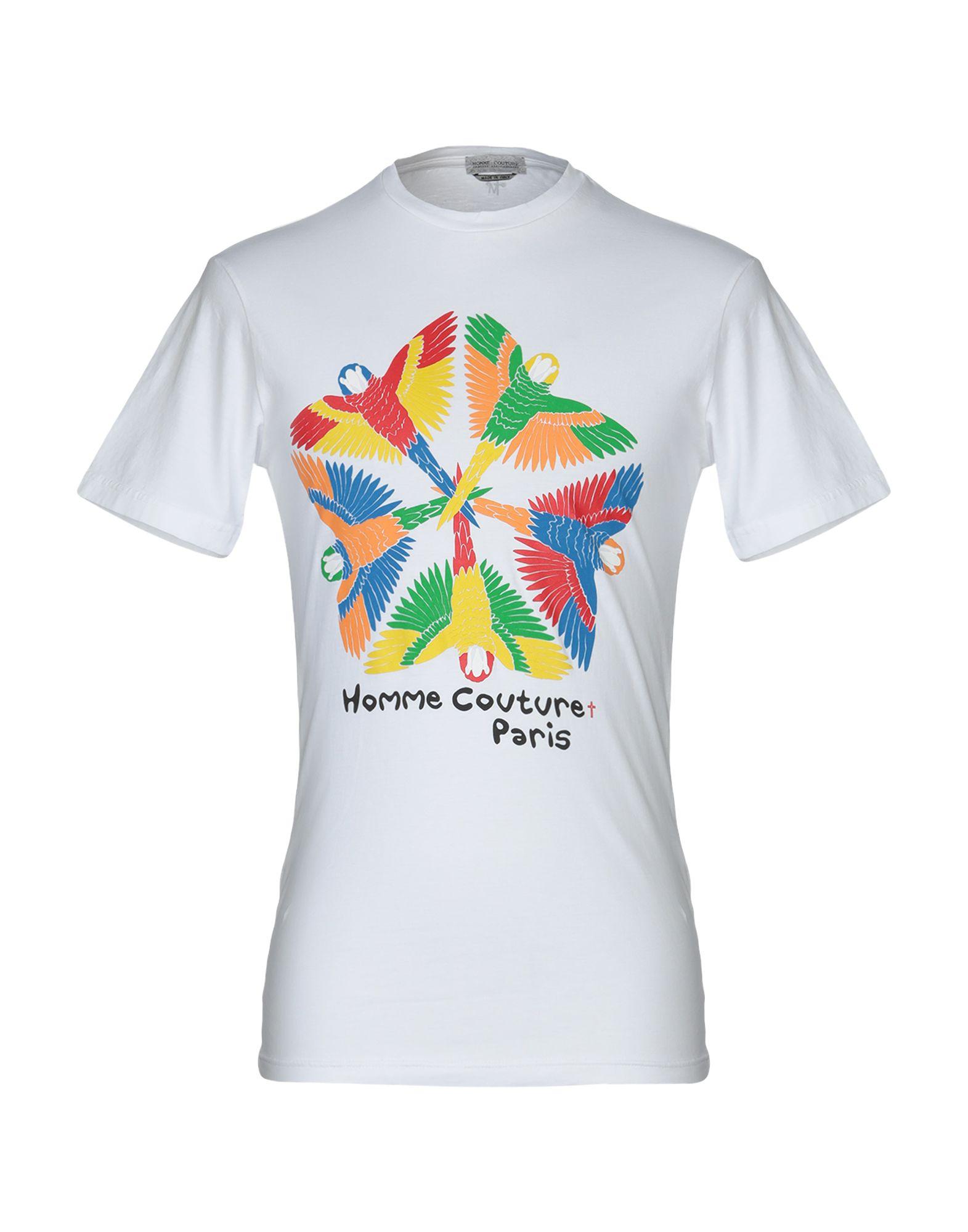 《セール開催中》DANIELE ALESSANDRINI HOMME メンズ T シャツ ホワイト XL コットン 100%