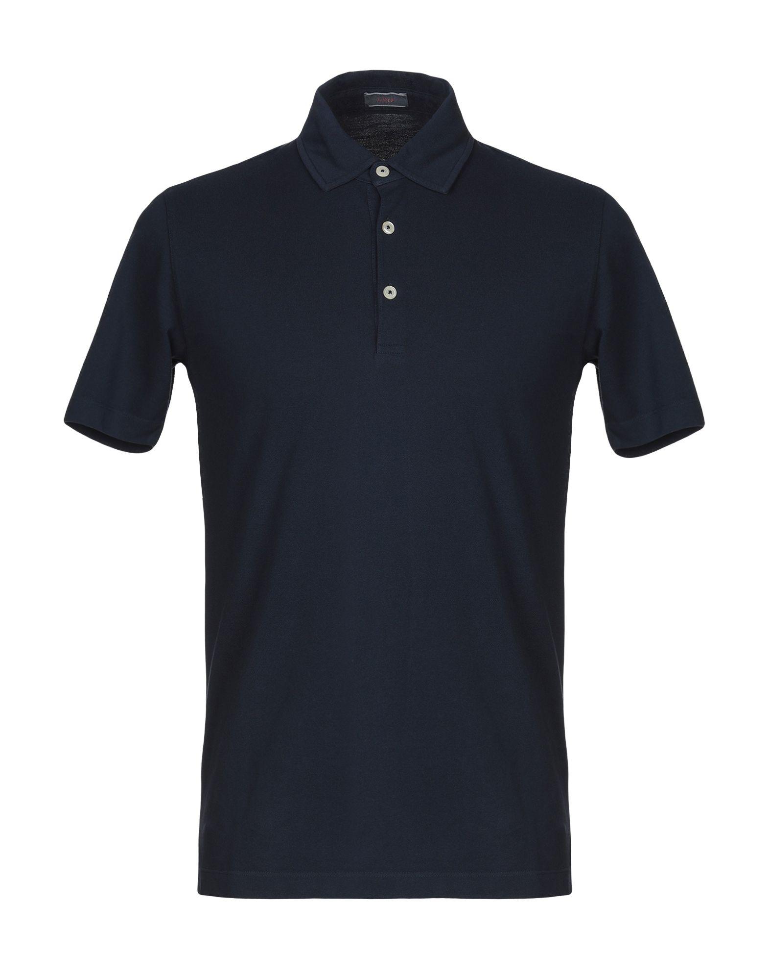 《送料無料》ALTEA メンズ ポロシャツ ダークブルー XS コットン 100%