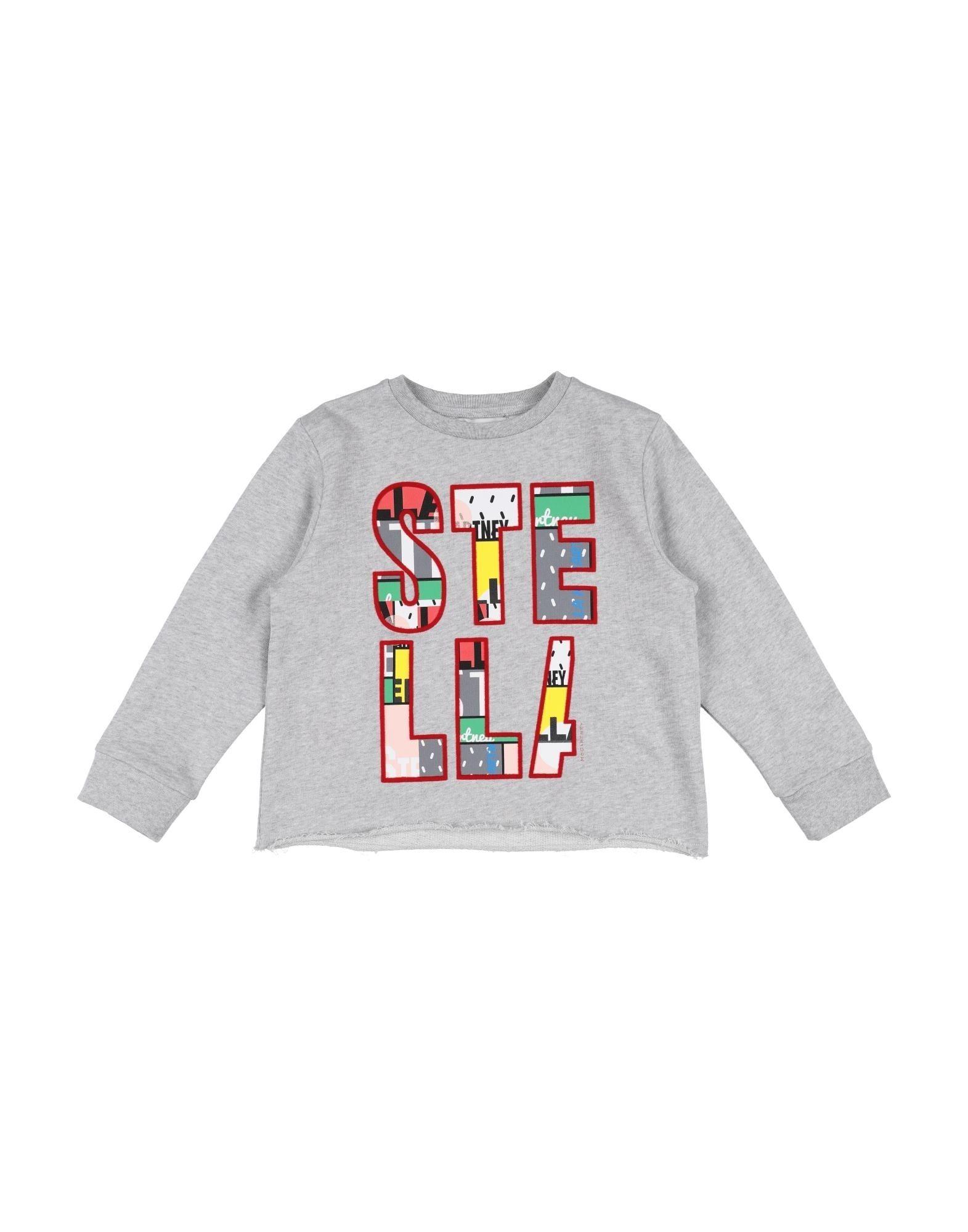 STELLA McCARTNEY KIDS Mädchen 3-8 jahre Sweatshirt3 grau