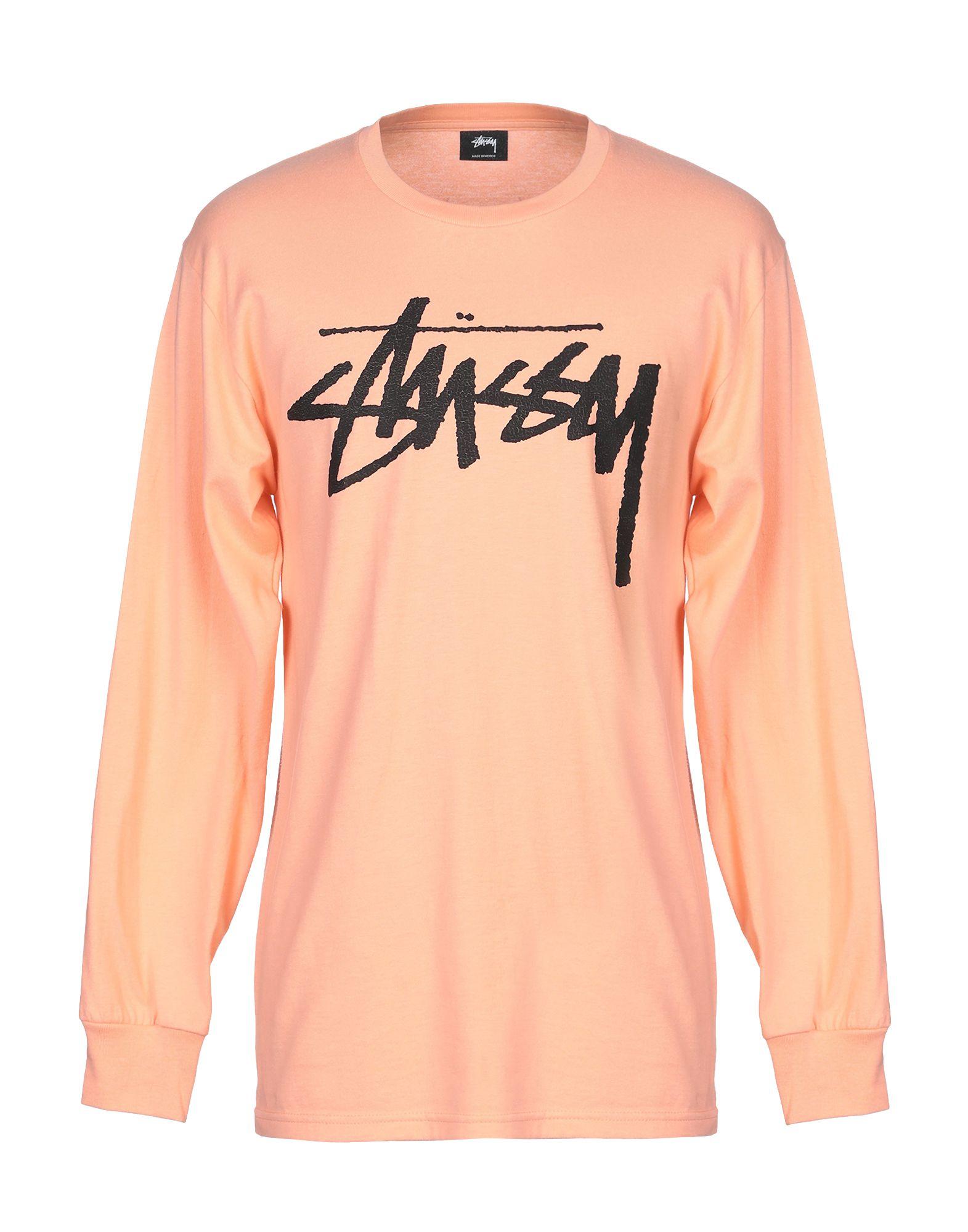 《送料無料》STUSSY メンズ T シャツ サーモンピンク M コットン 100%