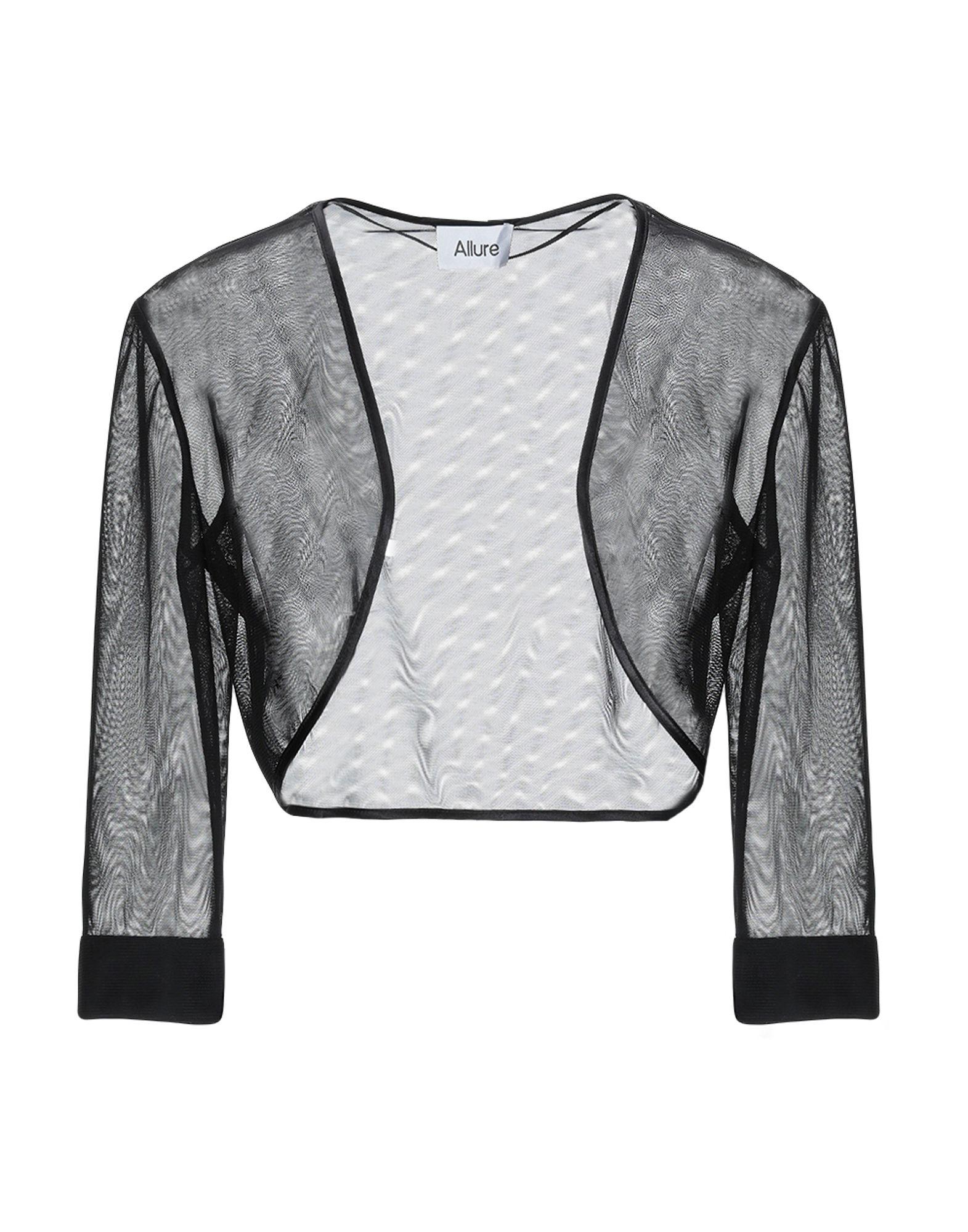 《送料無料》ALLURE レディース テーラードジャケット ブラック 6 ポリエステル 100%