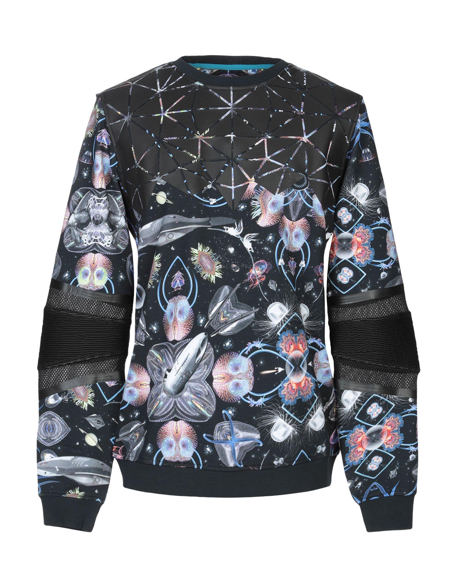《送料無料》FRANKIE MORELLO メンズ スウェットシャツ スチールグレー XS コットン 100%