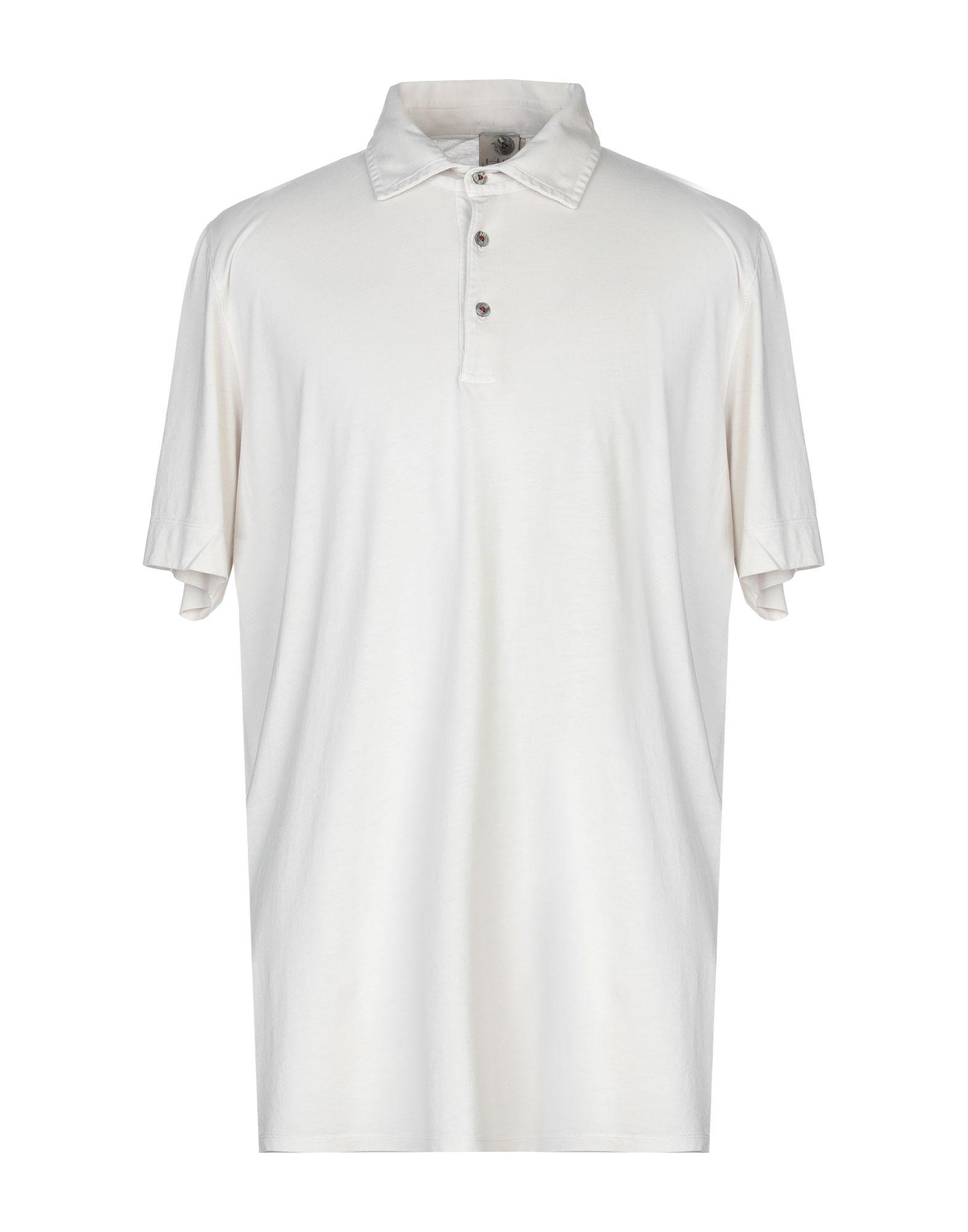 《送料無料》H953 メンズ ポロシャツ ベージュ 58 コットン 100%