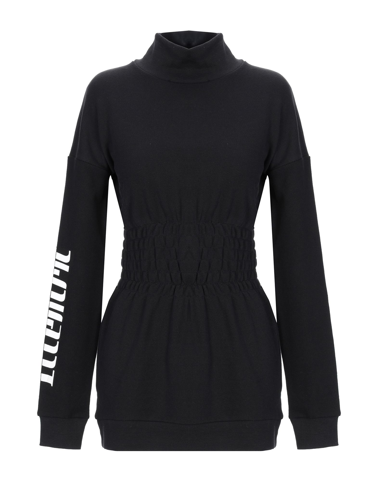 《送料無料》SH by SILVIAN HEACH レディース スウェットシャツ ブラック XS コットン 100%