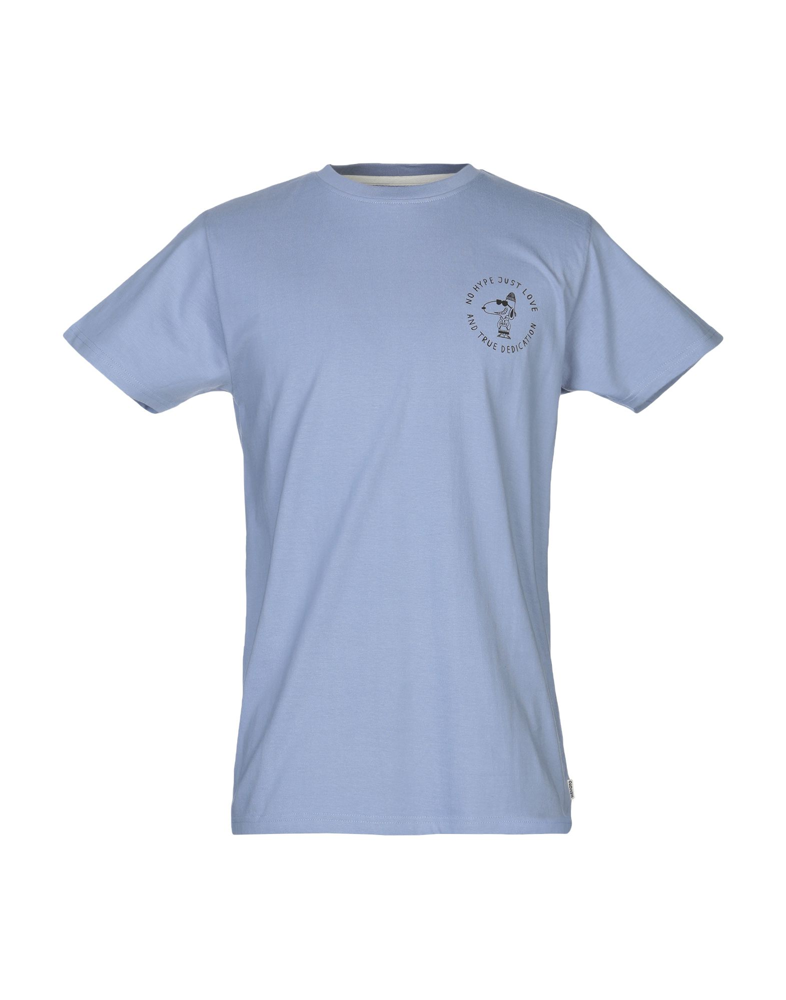 《送料無料》WEMOTO メンズ T シャツ ライトパープル M コットン 100%